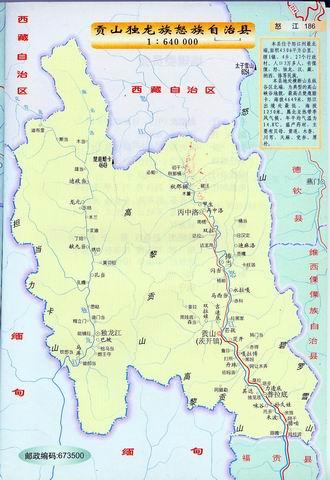 沪沽湖景区地图